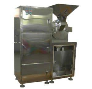 Automatic Ginger Powder Crusher with Bag Filter