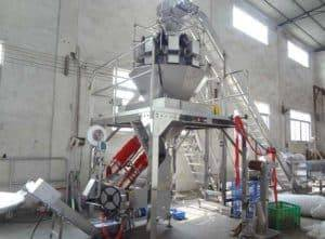 Full Automatic Ginger Mesh Bag Packing Machine for Supermarket