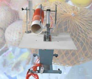 Semi-Automatic Ginger Mesh Bag Clipping Machine