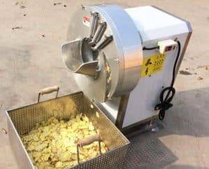 Automatic Ginger Slicing Cutting Machine for Sale