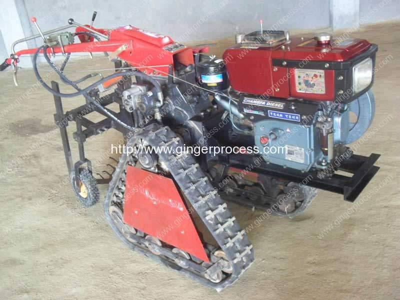 Automatic Ginger Harvester Machine with Diesel Engine