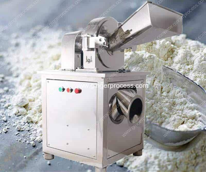 Water Cooling Type Stainless Steel Ginger Powder Grinder Machine