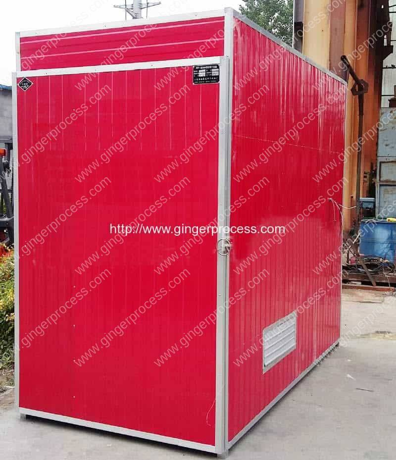 Natural Gas Heating Ginger Slice Dryer Oven for Sale