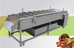 Lavadora automática de alta presión del jengibre del aerosol de agua con el cepillo inferior