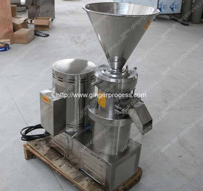 Automatic-Stainless-Steel-Ginger-Paste-Colloid-Milling-Machine
