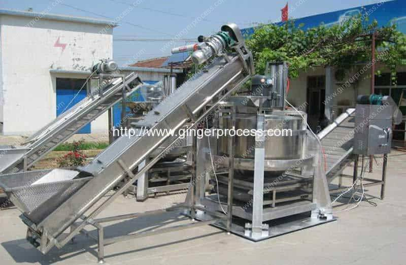 Automatic-Centrifugal-Type-Ginger-Slice-Dehydrate-Water-Removing-Machine