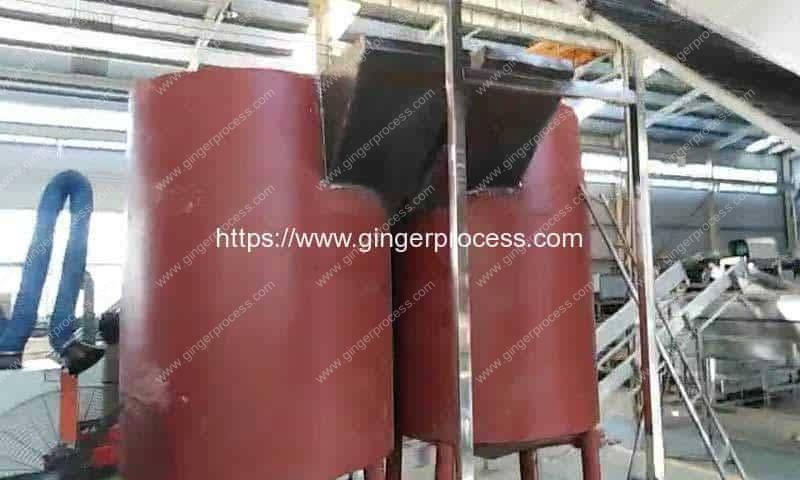 2000kgh-Drum-Type-Ginger-Washing-Peeling-Machine