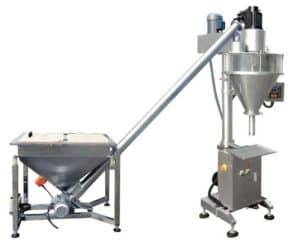 Auger-Filler-Type-Ginger-Powder-Filling-Machine-with-Big-Powder-Hopper