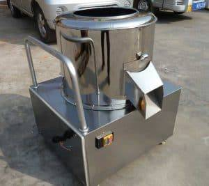 Abrasive Ginger Washing Peeling Machine