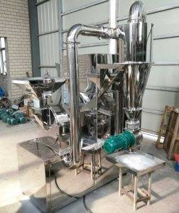 Integrated-Continuous-Automatic-Ginger-Powder-Grinding-Machine