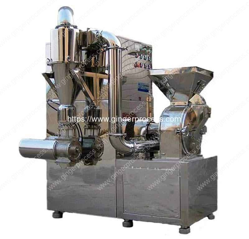 Integrated-Continuous-Ginger-Powder-Grinding-Machine