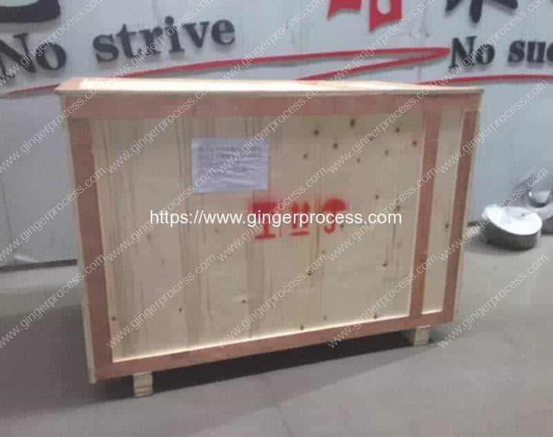 Automatic-Ginger-Washing-Peeling-Machine-Delivery-to-Nepal-Customer