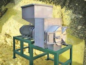 Automatic Fresh Ginger Squirrel Cage Crusher Machine