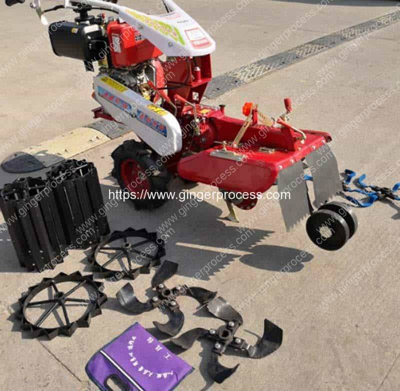 Automatic-Ginger-Planting-Trencher-Machine