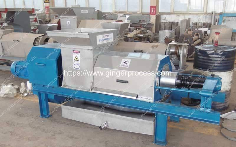 Double Screw Type Onion Water Presser Machine