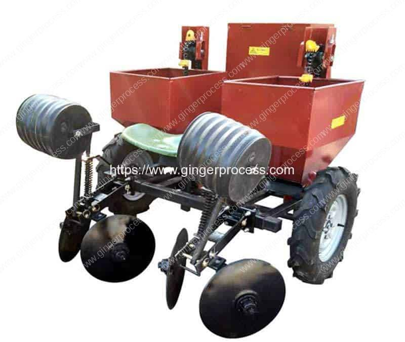 Automatic-Double-Row-Ginger-Planter-Machine