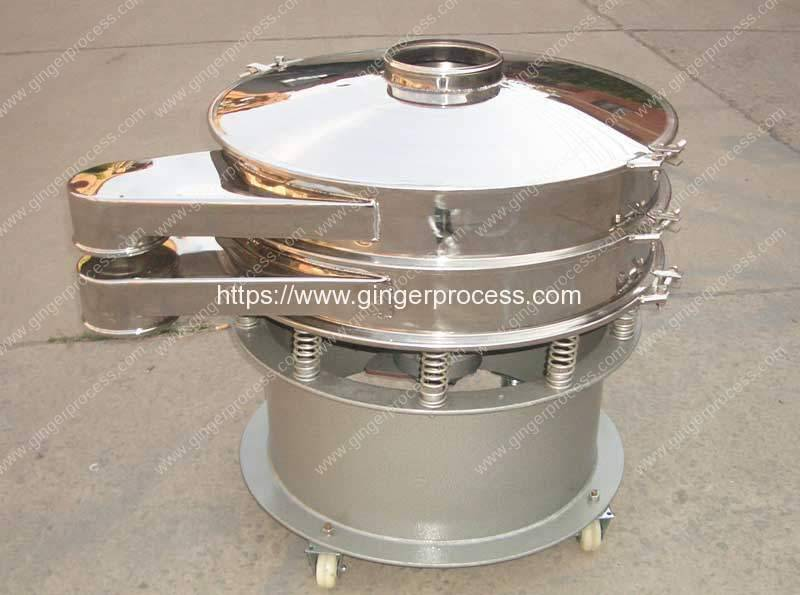 Automatic-Instant-Ginger-Tea-Granule-Vibrating-Screen-Machine
