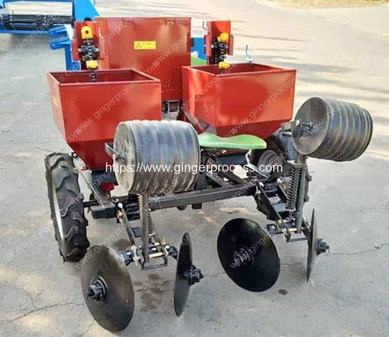 Automatic-Two-Row-Ginger-Planter-Machine