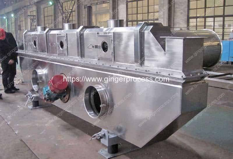 Automatic-Vibrating-Fluid-Bed-Ginger-Tea-Granule-Drying-Machine