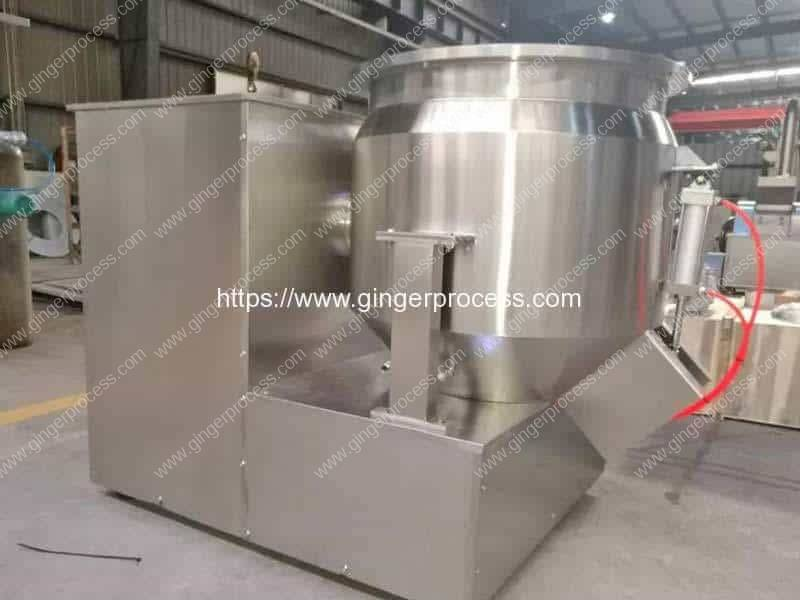 High-Speed-Vertical-Ginger-Powder-and-Honey-Sugar-Liquid-Mixer-Machine