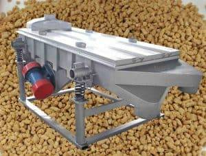 Square Shape Ginger Tea Granule Vibrating Screen