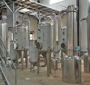 Continuous-Ginger-Juice-Evaporation-Machine