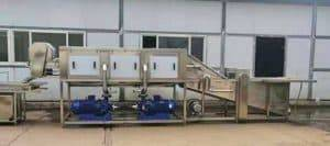 Integrated Type Ginger Water Washing and High Pressure Cleaning Machine