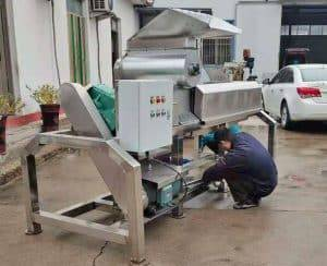 Automatic-5Ton-Ginger-Juice-Extractor-Machine-with-Crusher