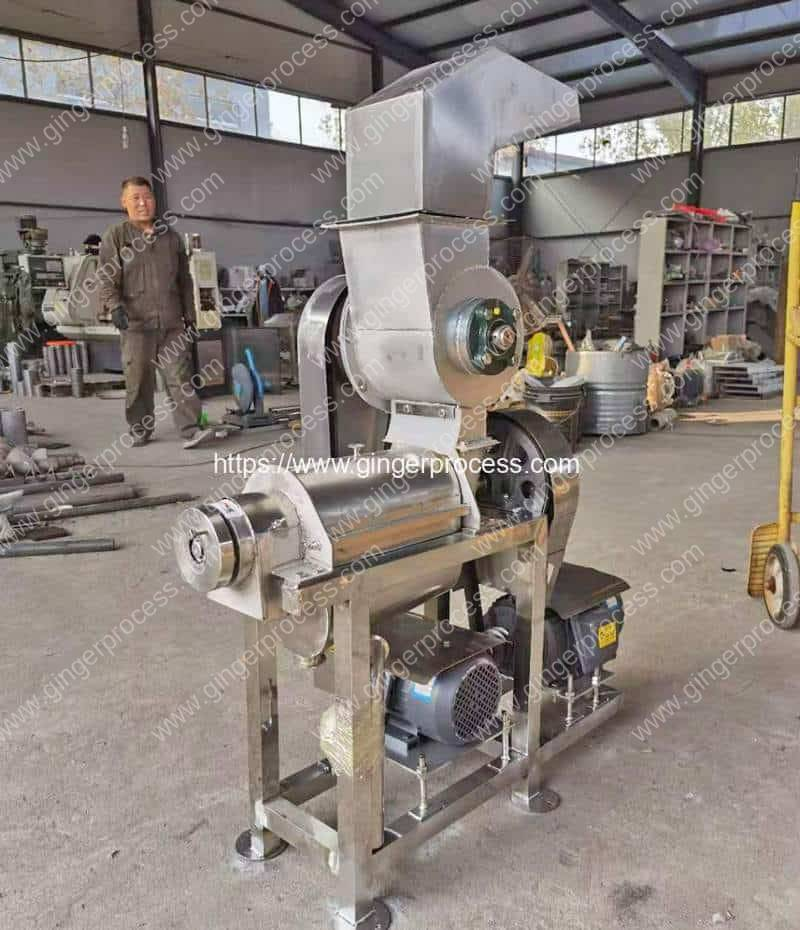 Automatic-Ginger-Juice-Extractor-Machine-for-Ghana-Customer