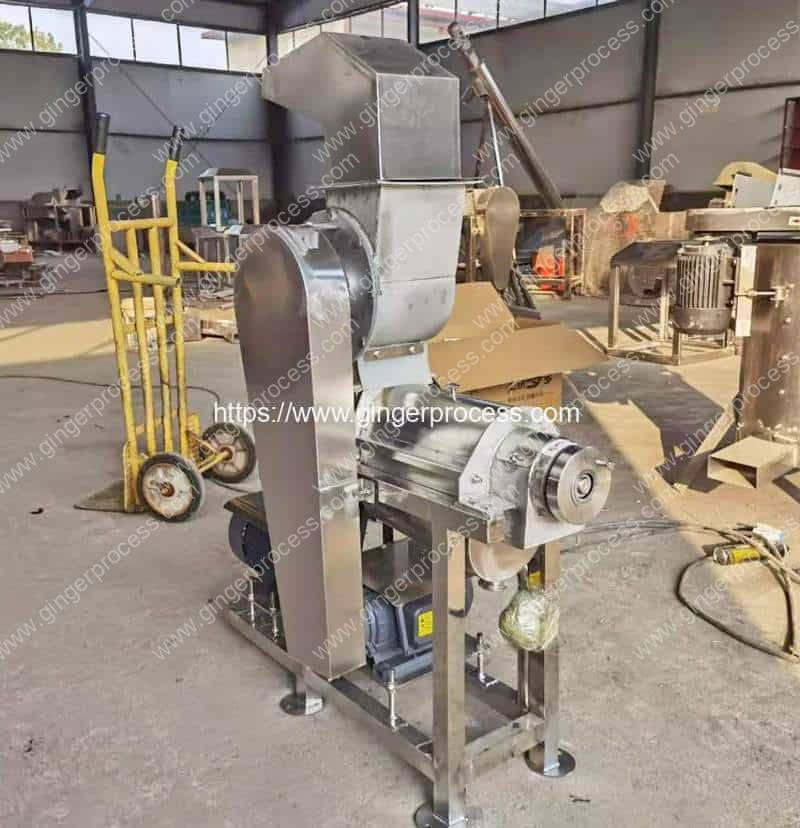 Ginger-Juice-Extractor-Machine-with-Crusher-for-Ghana-Customer