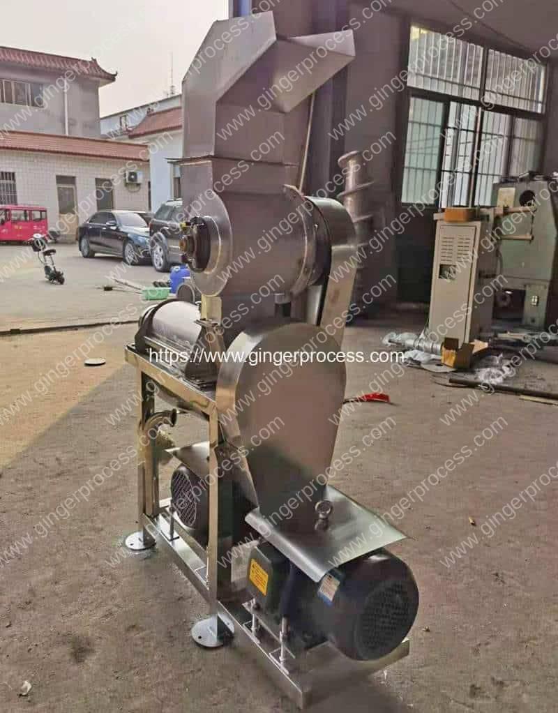 Ginger-Juicer-Machine-for-Ghana-Customer