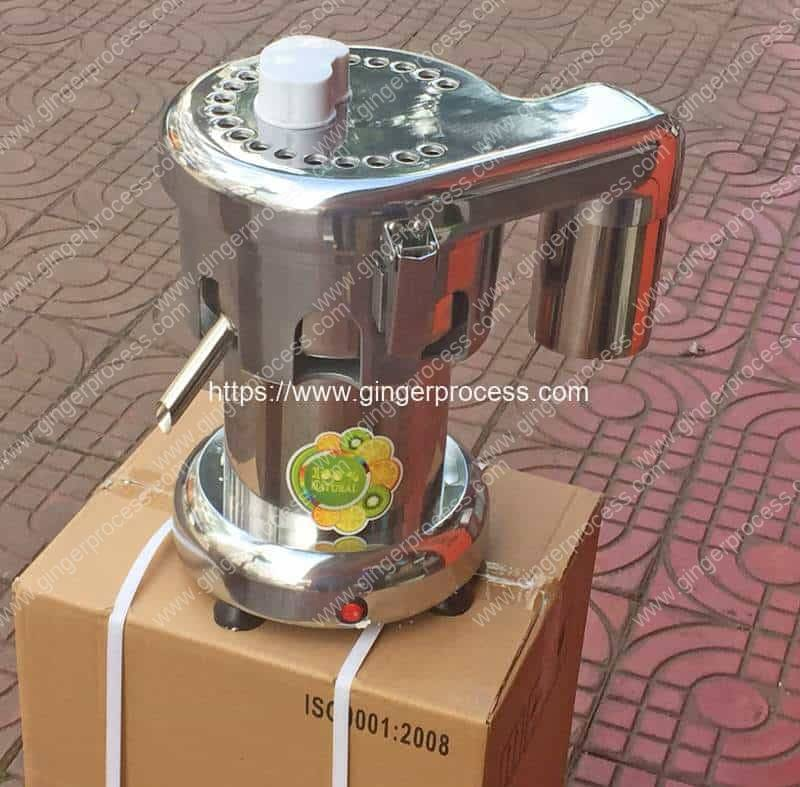 Small-Ginger-Juice-Machine-for-Malaysia-Customer