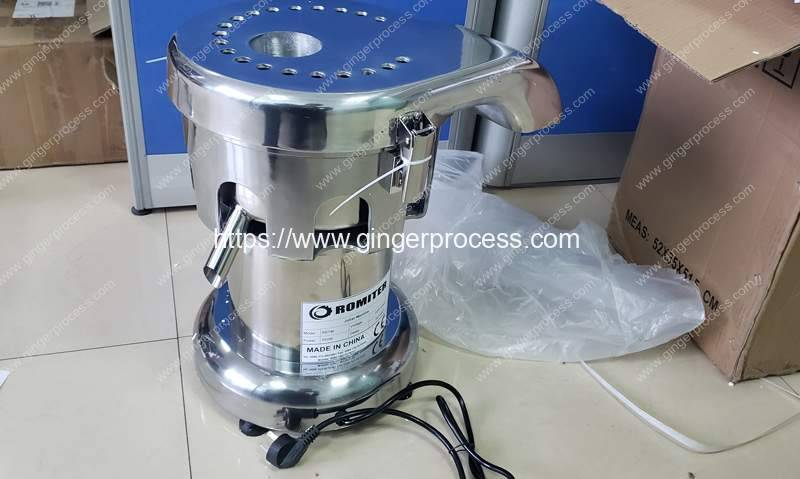 Automatic-Ginger-Juicer-Machine-for-France-Customer