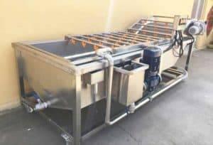 Machine à laver automatique de l'eau de gingembre à vendre