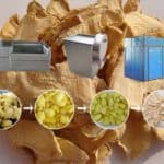 Semi-Automatic Dehydrated Ginger Slice Production Line for Sale