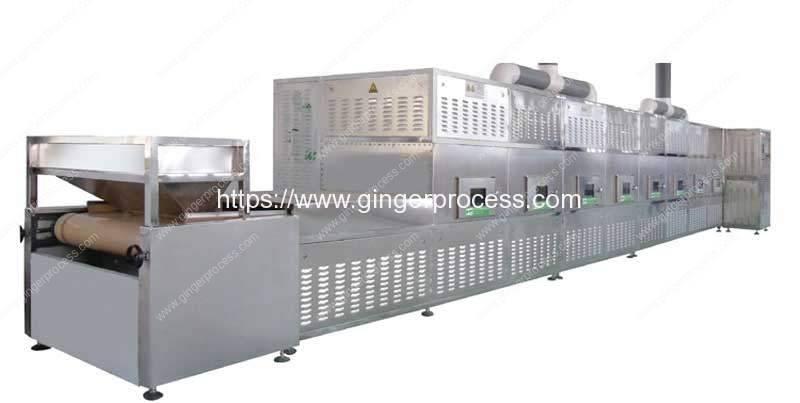 Automatic-Ginger-Powder-Microwave-Sterilizer-Machine