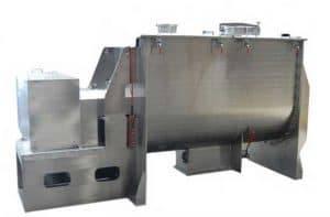 Automatic-Ginger-Powder-Ribbon-Mixing-Blending-Machine