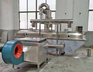 Electric-Heating-Fluid-Bed-Vibrate-Ginger-Tea-Granule-Dryer