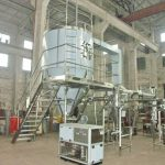 Machine automatique de séchage par pulvérisation de poudre de gingembre