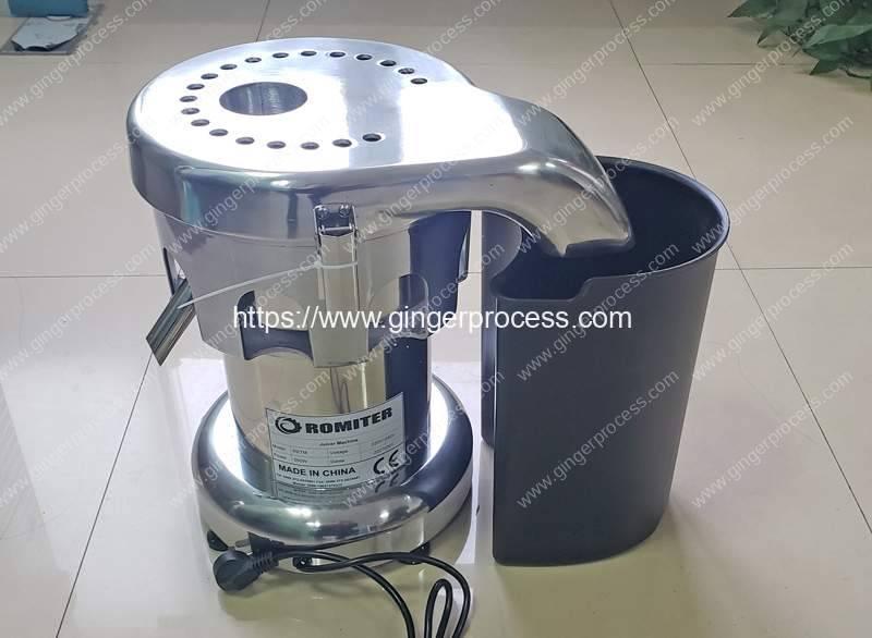 B2000-Ginger-Juice-Making-Machine-for-France-Customer